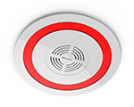 Wireless Sound and Light Alarm (ceiling type)