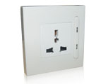 Wireless Security Socket ---Wall Mounting